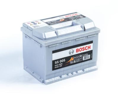 Аккумулятор BOSCH S5 SILVER PLUS  563 400 061 S50 050