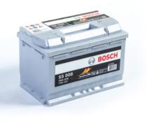 Аккумулятор BOSCH S5 SILVER PLUS  577 400 078 S50 080