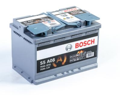 Аккумулятор BOSCH S5 AGM  570 901 076 S5A 080