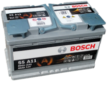 Аккумулятор BOSCH S5 AGM  580 901 080 S5A 110
