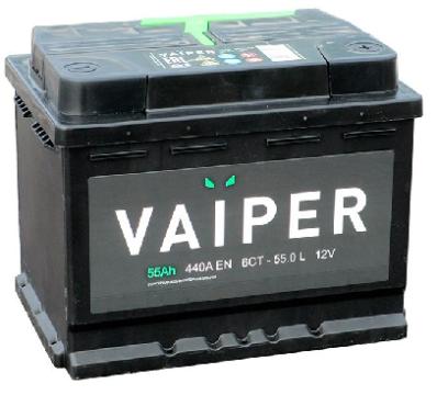 Аккумулятор VAIPER 6СТ-55.0 L