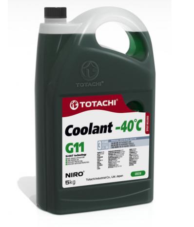 Антифриз TOTACHI NIRO Coolant Green -40C G11