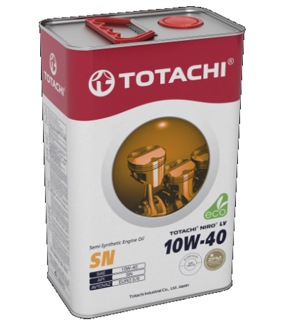 Масло моторное полусинт. TOTACHI NIRO LV SEMI-SYNTHETIC 10W-40