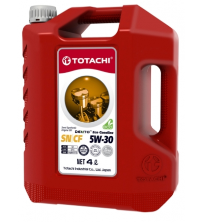 Масло моторное TOTACHI DENTO ECO GASOLINE SEMI-SYNTHETIC 5W-30