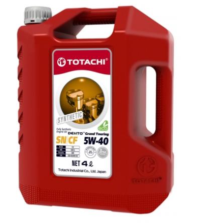 Масло синтетическое TOTACHI DENTO GRAND TOURING SYNTHETIC 5W-40