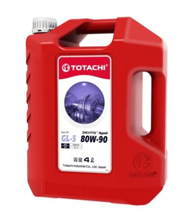 Масло трансмиссионное TOTACHI DENTO Hypoid Gear Oil GL-5 80W-90