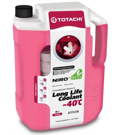 Антифриз TOTACHI NIRO LONG LIFE COOLANT RED -40°C