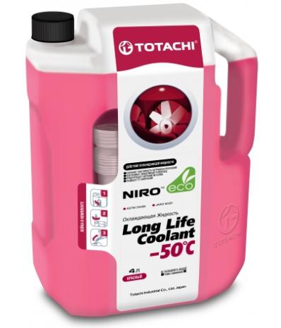 Антифриз TOTACHI NIRO LONG LIFE COOLANT RED -50°C