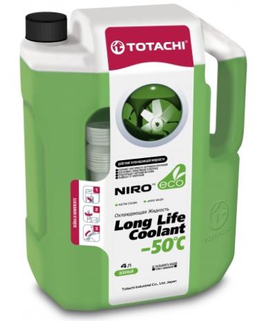 Антифриз TOTACHI NIRO LONG LIFE COOLANT GREEN -50°C