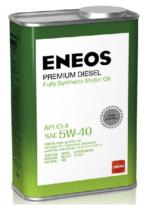 Масло синтетическое моторное ENEOS Premium Diesel 5W-40