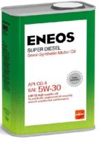 Моторное масло полусинтетическое ENEOS Super Diesel 5W-30 Semi-synthetic