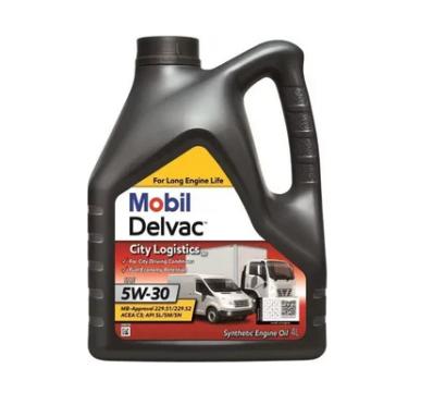 Синтетическое моторное масло Mobil Delvac™ City Logistics M 5W-30