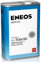 Трансмиссионное масло для мостов ENEOS GEAR OIL SAE 75W-90 GL-5