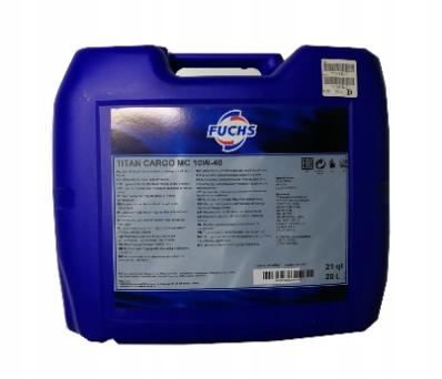 Моторное всесезезонное  масло FUCHS TITAN CARGO MC 10W-40