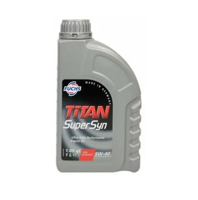 Синтетическое моторное масло FUCHS TITAN SUPERSYN 5W-40