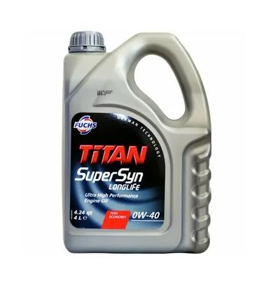Масло моторное синт. FUCHS TITAN SUPERSYN LONGLIFE 0W-40