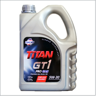 Моторное масло синтетическое FUCHS TITAN GT1 PRO GAS 5W-30