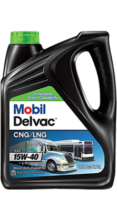 Моторное масло Mobil Delvac™ CNG-LNG 15W-40