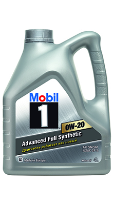 Масло моторное синтетическое Mobil 1™ 0W-20