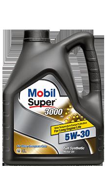 Моторное масло синтетич. Mobil Super™ 3000 XE 5W-30