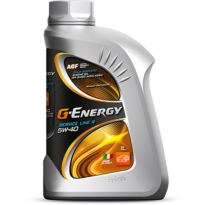 Синтетическое моторное масло G-ENERGY SERVICE LINE R 5W-40