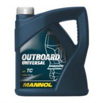 Масло для двухтактных двигателей  MANNOL Outboard Universal