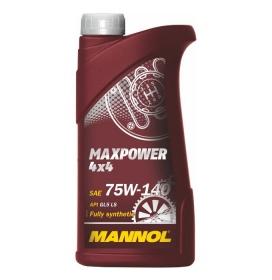 Масло трансмиссионное MANNOL Maxpower 4×4 75W-140