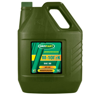 OIL RIGHT М-10Г2К SAE 30