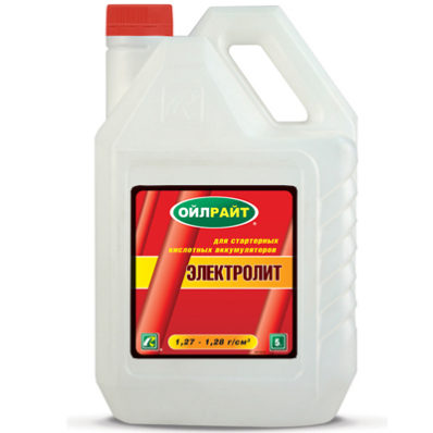 OIL RIGHT Электролит