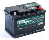 Аккумулятор GIGAWATT 574 104 068 G74R