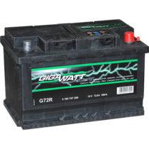 Аккумулятор GIGAWATT 572 409 068 G72R