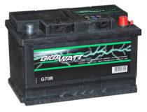 Аккумулятор GIGAWATT 570 144 064 G70R