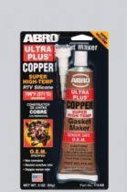 ABRO Герметик прокладок медно-силиконовый высокотемпературный (Бронзовый)
