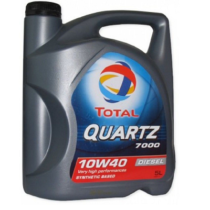 Моторное масло TOTAL QUARTZ DIESEL 7000 10W-40
