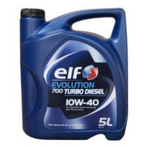 Масло моторное полусинтетическое ELF EVOLUTION 700 TURBO D 10W-40