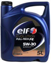 Масло моторное синтетическое ELF EVOLUTION FULLTECH FE 5W-30