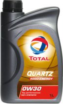 Моторное масло синтетическое TOTAL QUARTZ 9000 ENERGY 0W-30
