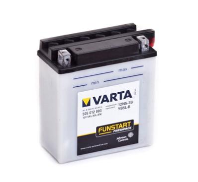 Аккумулятор VARTA POWER SPORTS FP  505 012 003 A514