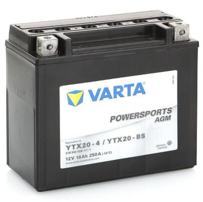 Аккумулятор VARTA POWER SPORTS AGM  518 902 026 A514