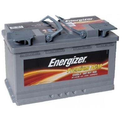 Аккумулятор Energizer Premium AGM 580 901 080 EA80-L4