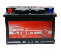 Аккумулятор EXTRA START 6СТ-74N L+ (L2)