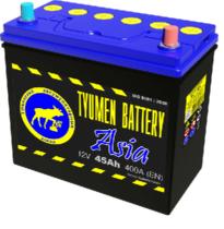 Аккумулятор Тюмень 45 Ah ASIA  (+R)