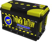 Аккумулятор Тюмень 66 Ah  STANDART (+R)
