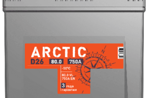 Аккумулятор TITAN ARCTIC ASIA 6СТ-80.0 VL B01