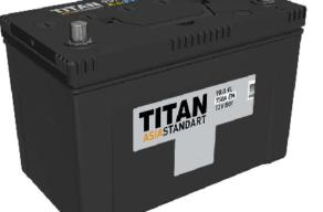 Аккумулятор TITAN EFB 6СТ-60.0 VL