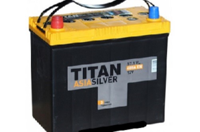 Аккумулятор TITAN ASIA SILVER 6CT-57.1 VL B00