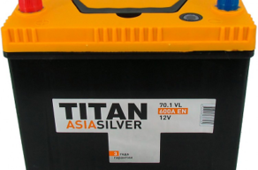 Аккумулятор TITAN ASIA SILVER 6CT-70.1 VL B01