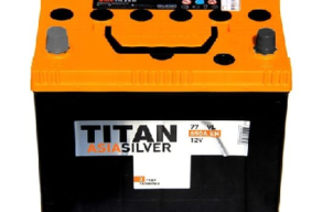 Аккумулятор TITAN ASIA SILVER 6CT-77.1 VL B01