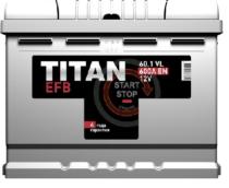 Аккумулятор TITAN EFB 6СТ-60.1 VL