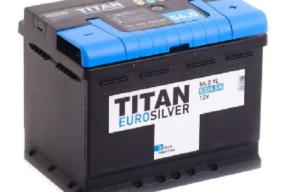 Аккумулятор TITAN EUROSILVER 6CT-56.0 VL